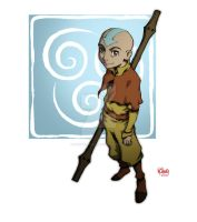 Avatar Aang by Michael-Chang