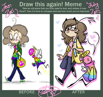 Improvement Meme by kaitlinxing