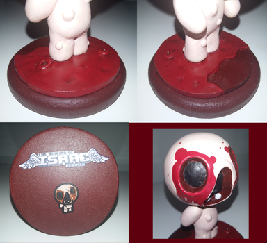 (The Binding of Isaac) Mr. Maw Sculpture Details by Skafandra206