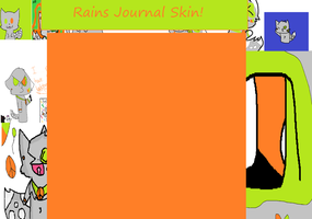 ONLY Rains journal skin by InvaderRain100