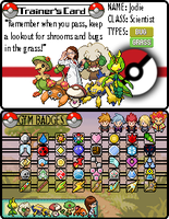 Trainer Card by JwalsShop
