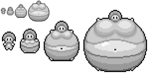 Female Inflation Sprite Template by masterd987