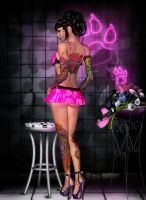 Wicked Pinup Pink by sweetpoison67