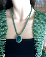 Chainmail Necklace  by DesignsbyJames