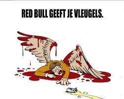 Red Bull geeft je vleugels. by Jwpepr