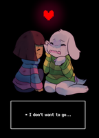 * I Don't Want to Let Go | Undertale by pekou