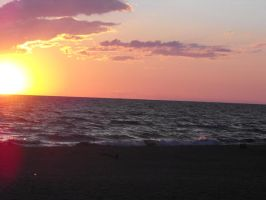 Lake Michigan at Sunset 4 by ArrsistableStock
