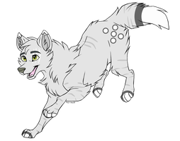 2 Point Wolf Adopt (Closed!) by Theanimaldrawer81604