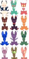 Free Adopts~! .:Closed:. by Arrestii