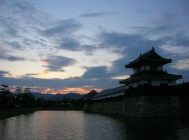 Hiroshima Castle by Rea-the-squirrel