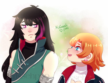 :RWBY: Over the Mountain by krissehpoo
