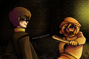 Stephano VS Barrel by Punkichi