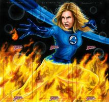 Dangerous Diva-Invisible Woman by artguyNJ