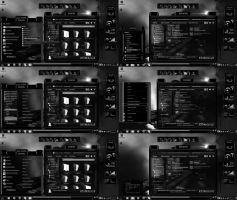 Windows 7 Themes Black Ultra Dark by tono3022