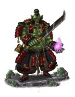 Hexblade Orc by mscorley