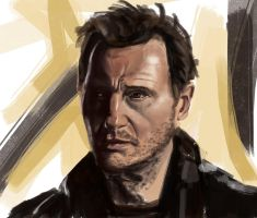 Liam Neeson by lukas-art
