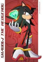 Shadow the Hedgehog :Poster: by moxie2D