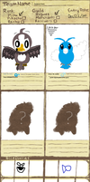 my PMD team application Thingy deux rogues by BeautifullyDarkened