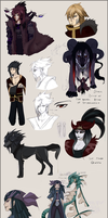 Character concepts 2 by Autlaw