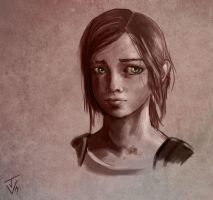 Ellie - The Last Of Us by jeanettevollmer
