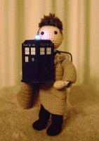 241: The Angel has the Police Box by CrazyFoxMoon