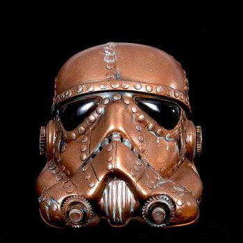 Steampunk Copper Stormtrooper by artfordable