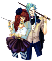 Chiaki and Ioria go to Prom by hommeglorieux