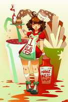 Hanz KetcHup by GDBee