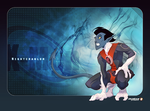 Nightcrawler or Diablo Fan-Art by MabaProduct