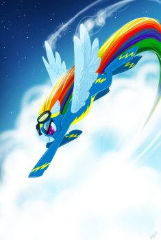 Rainbow Crash! by ViralAcorn