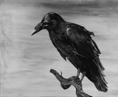 The Crow by Valadj