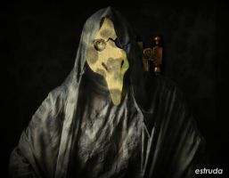 Portrait Of The Plague Doctor 3 by Estruda