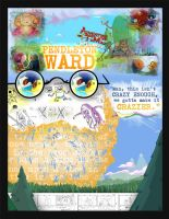 Pendleton Ward Poster by annieawesomesauce