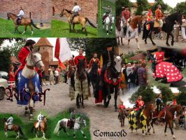 Medieval Riders pack by Comacold-stock