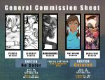 Commission Info Sheet: Basic(Simple) by LunarMew