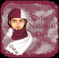 Qatar National Day by desertsprout