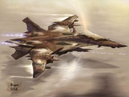 GOA Jet Concept Work Version2 by SkyerFox