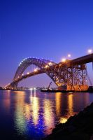 The Bayonne Bridge by sullivan1985