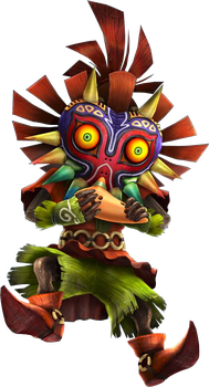 Skull Kid Ocarina (Hyrule Warriors) by LostChildSkullkid