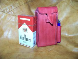 leather cigarette case 1b by MerrillsLeather