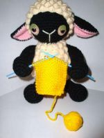 knitting sheep by Simnut