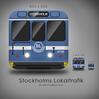 iPhone icon, Res i STHLM by Arvid23