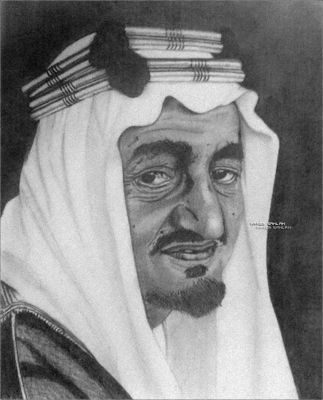 King Faisal .. by Maneb-Sahlah