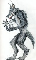 My Style of a Werewolf by blondewolf2