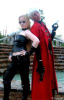 Dante and Trish cosplay by Jackov
