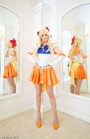 Sailor Venus: Sweet Reflection by KoriStarfire