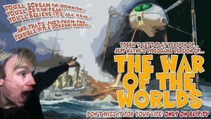 War of the Worlds Title Card by SirTobbii