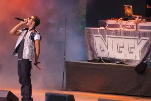 Diggy in Concert at Great Adventure NJ by kamau123