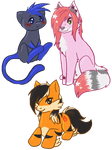 Chibi pack for Atomic-Juice by Bluefirewings