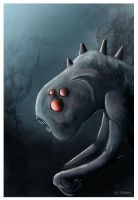Creature feature coloured by inkbot-uk